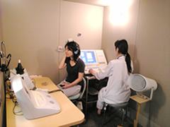聴力検査室(聴覚検査一般・補聴器適合検査)