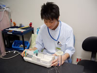 医療機器中央管理(バーコード管理)