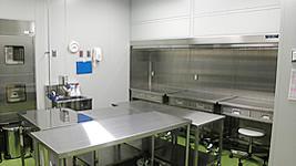 無菌製剤室の内部